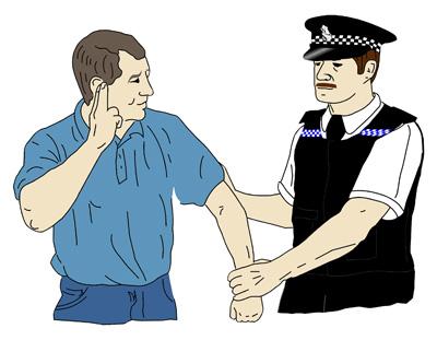 deaf-man-arrested